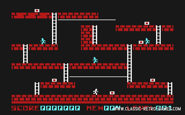 Lode Runner Live original screenshot