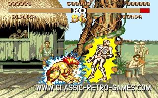 Street Fighter II original screenshot