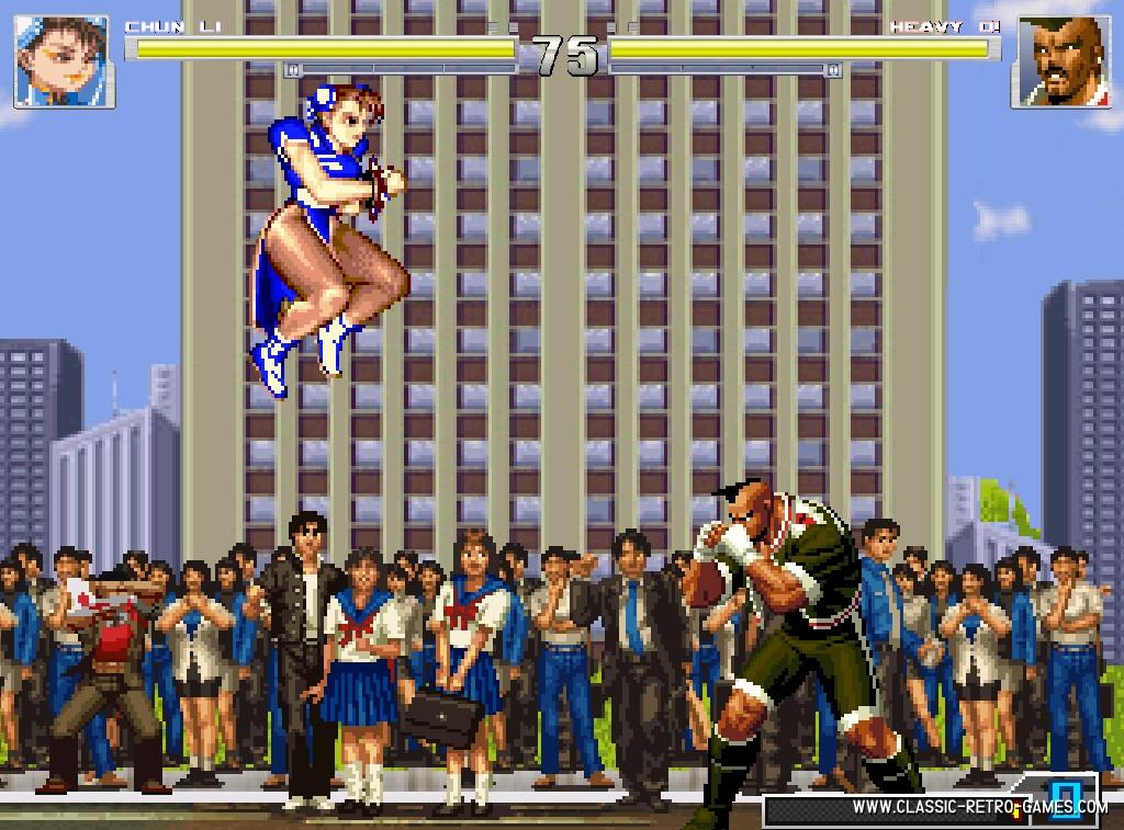 Street Fighter II remake screenshot