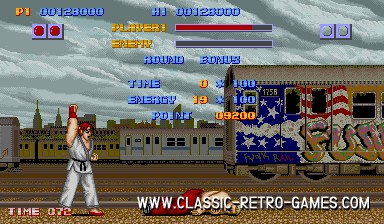 Street Fighter original screenshot