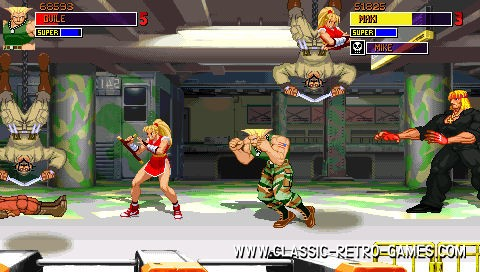 Street Fighter remake screenshot
