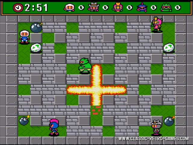 Bomberman original screenshot