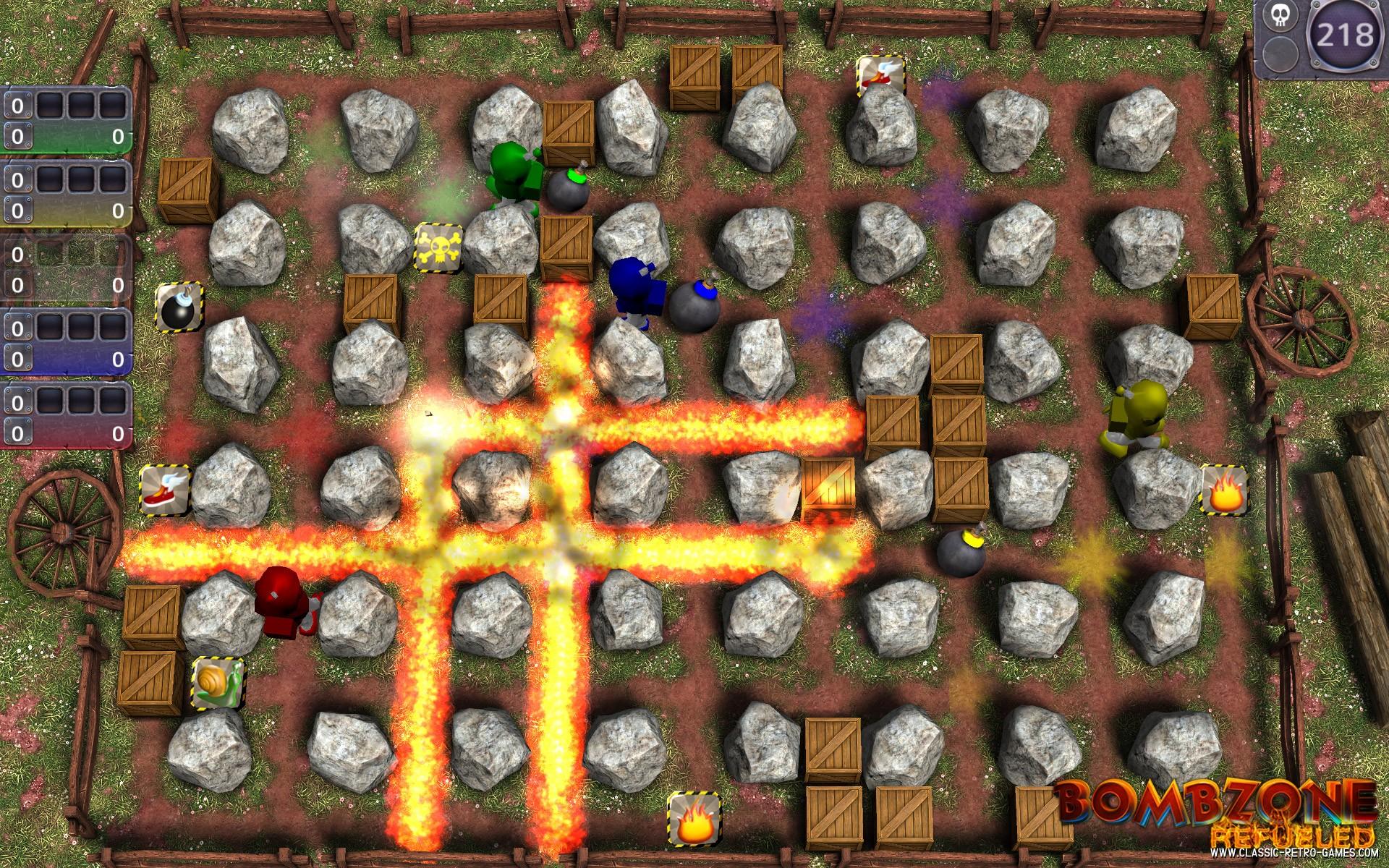 Bomberman remake screenshot