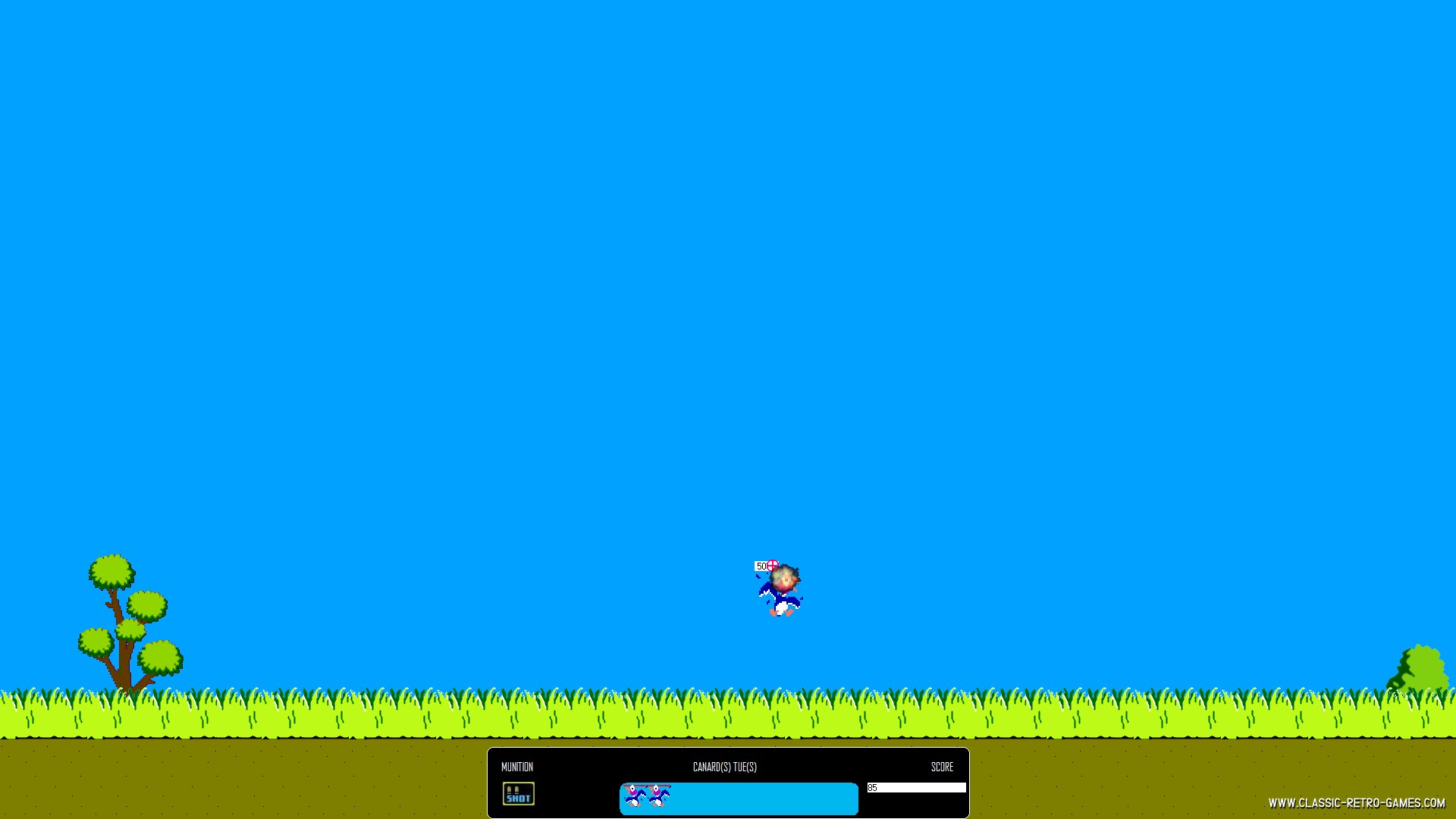 Duck Hunt remake screenshot
