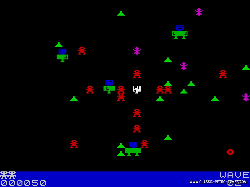 Robotron original screenshot