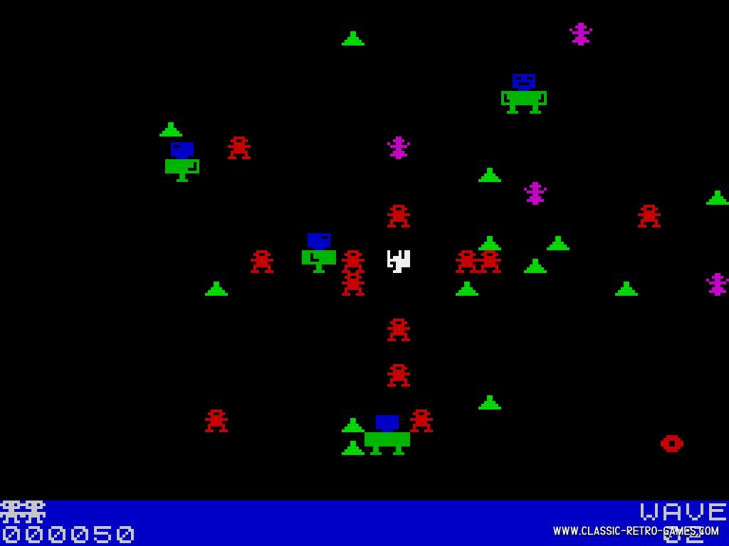 Robotron original screenshot