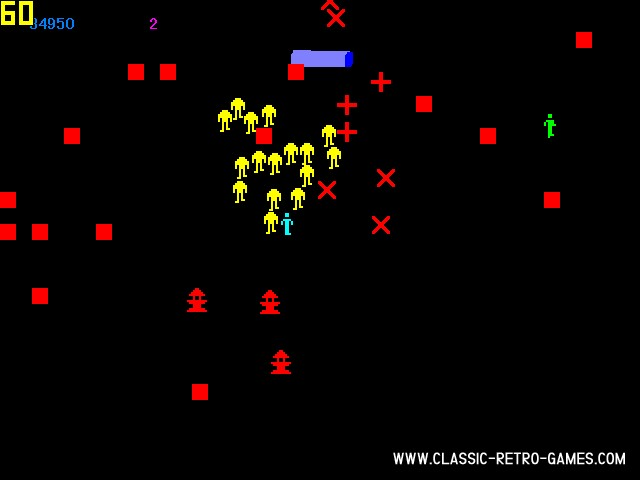 Robotron remake screenshot