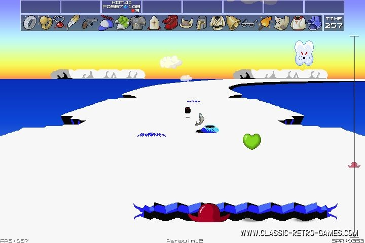 Penguin Adventure remake screenshot