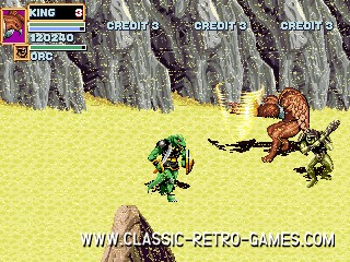 Golden Axe remake screenshot