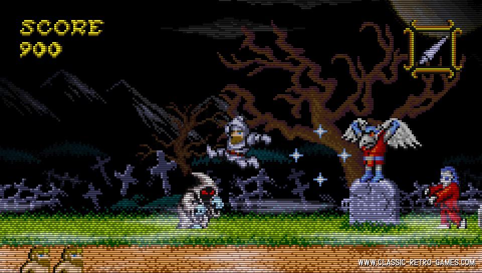 Ghosts 'N Goblins remake screenshot