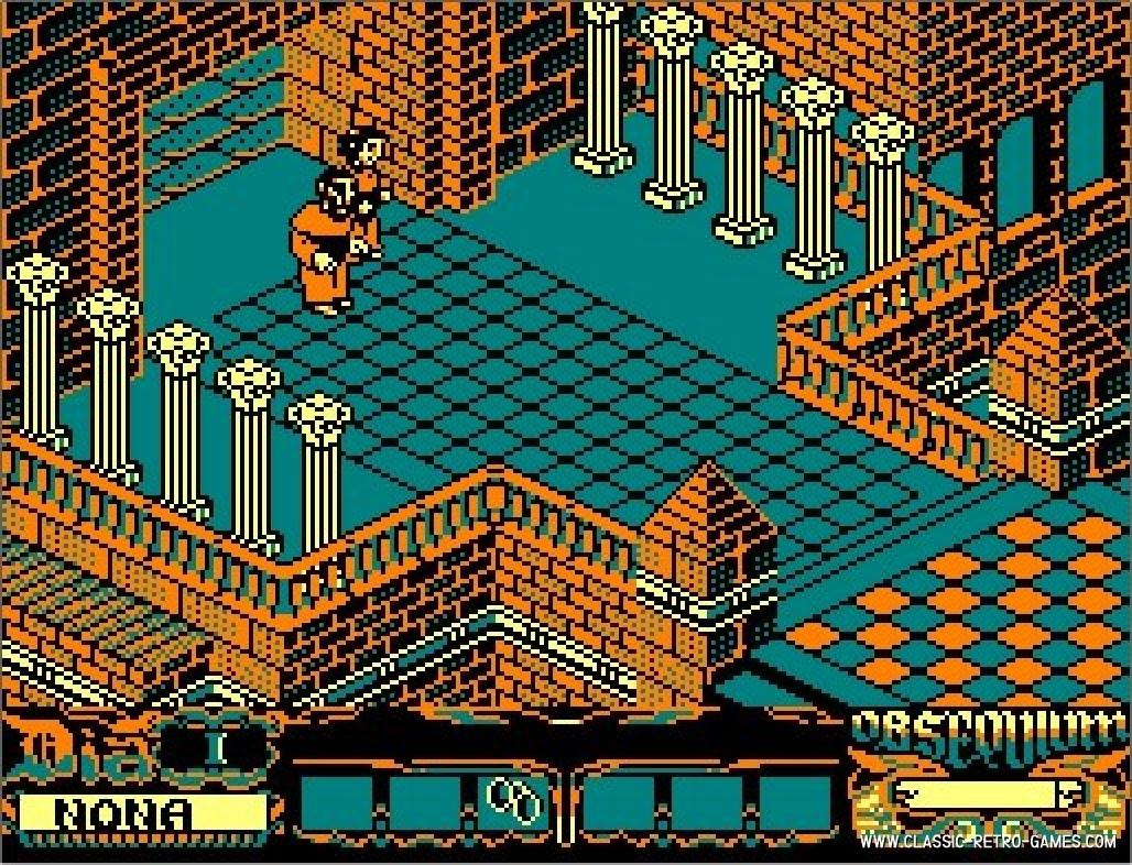 La Abadia del Crimen original screenshot