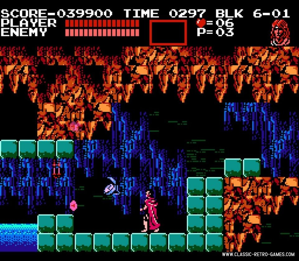 Castlevania original screenshot