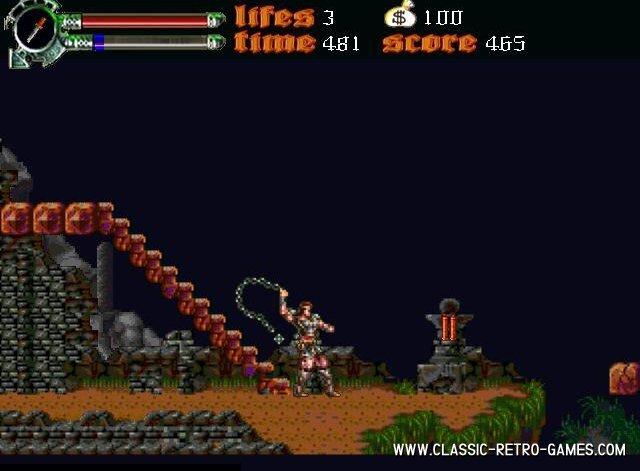 Castlevania - Dark Century remake screenshot