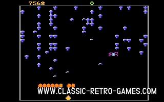 Centipede original screenshot