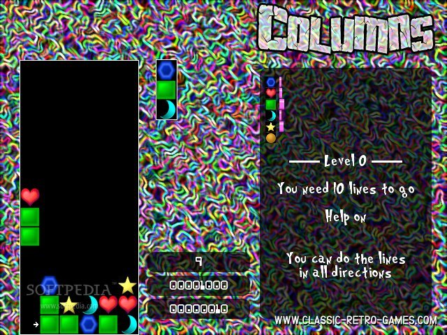 Columns remake screenshot