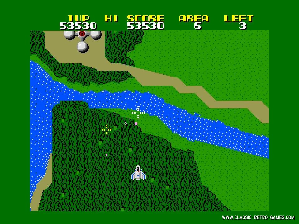 Xevious original screenshot