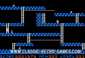 Lode Runner original screenshot