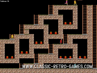 Lode Runner remake screenshot