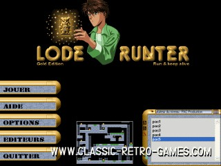 Lode Runner 2 remake screenshot