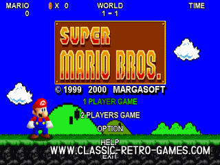 Download Super Mario Bros  (with 2 player mode) & Play Free
