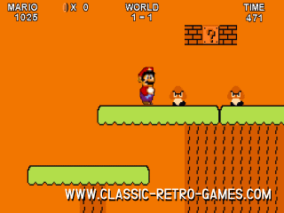 Super Mario Bros. (with 2 player mode) remake screenshot