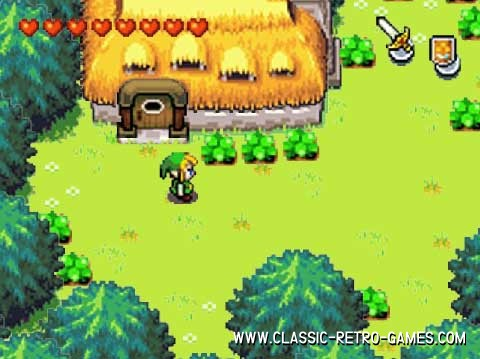 Legend of Zelda remake screenshot